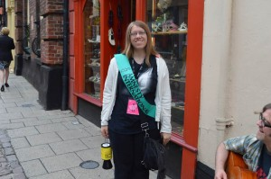 Norwich Amnesty Street Collection 2014 - 3
